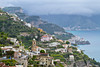 The village of Cetera along the Amalfi Coast, Italy.