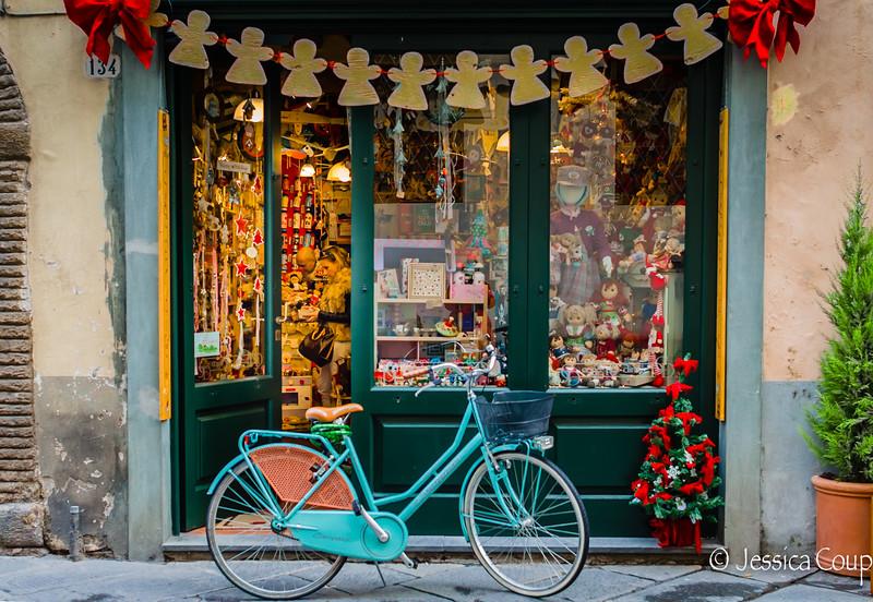 Christmas Shopping by Bike