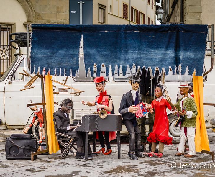 Christmas Market Puppet Show