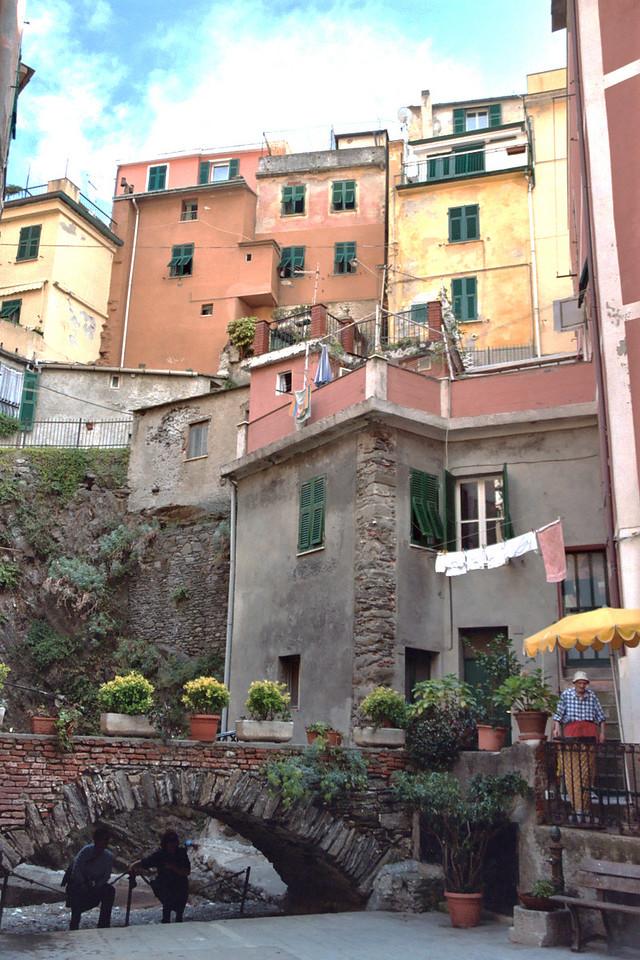 27. City scene in Cinque Terra, Italy