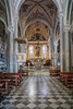 The church of Saint Peter in Corniglia, Cinque terre, Italy, Europe.