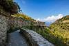 A nature trail near Corniglia, Cinque terre, Italy, Europe.