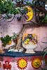 A ceramic shop display in Manarola, Cinque terre, Liguria, Italy, Europe.