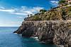 Cliffside trails in Manarola, Cinque terre, Liguria, Italy, Europe.