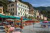 The sandy beach in Monterosso al Mare, Liguria, Italy, Europe.