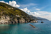 The rugged coastline in Monterosso al Mare, Liguria, Italy, Europe.