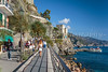 Coastal walk in Monterosso al Mare, Liguria, Italy, Europe.