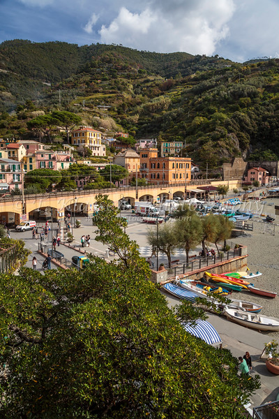 The coastal village of Monterosso al Mare, Liguria, Italy, Europe.
