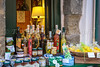 Items for sale in the shops and stores in the village of Vernazza, Cinque Terre, Liguria, Italy, Europe.