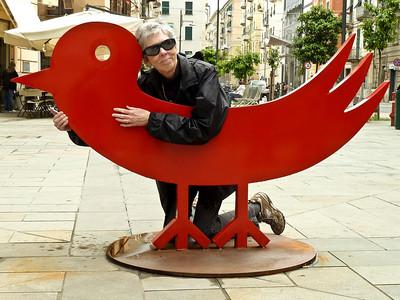 Lovin' the bird.