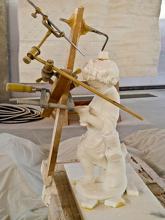 Sculpture model.