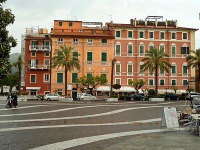 Piazza Garibaldi in Lerici