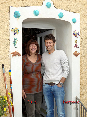 Piera and her son invited us to see the family's tower home.