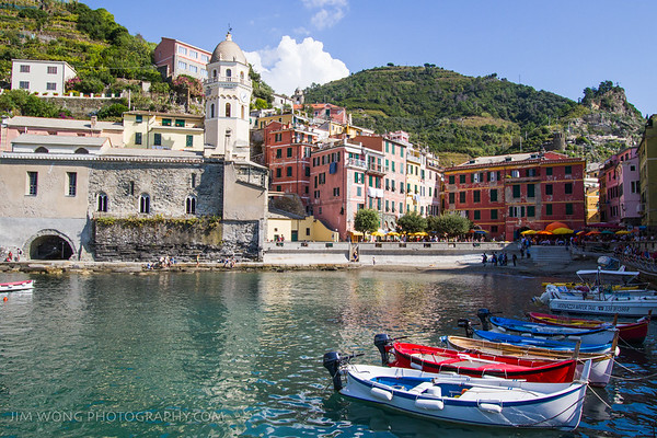 Harbor, Vernazza