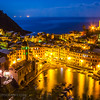 Night view, Vernazza