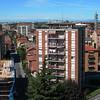 Cologno Monzese, landscape towards the city center. 3 images stitched with Autopano Giga.<br /> <br /> <br /> Cologno Monzese, il panorama verso il centro città. 3 immagini unite con Autopano Giga.
