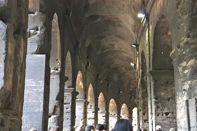 Inside the Colosseum June 2011