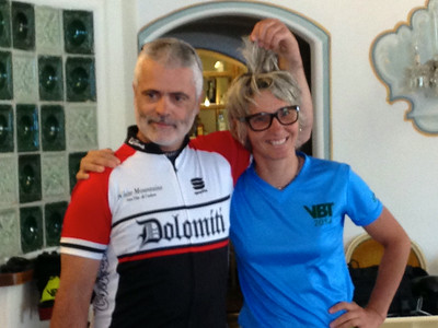 Italy: Cycling the Dolomite Valleys by Fran O. 6/21/14