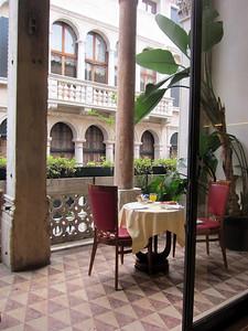 Venice, Hotel Dona Palace breakfast