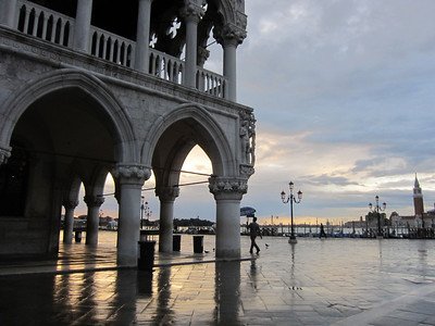 Venice, Piazza San Marco at dawn