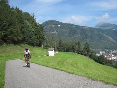 Sweet descent after climb from Mulbach (?)