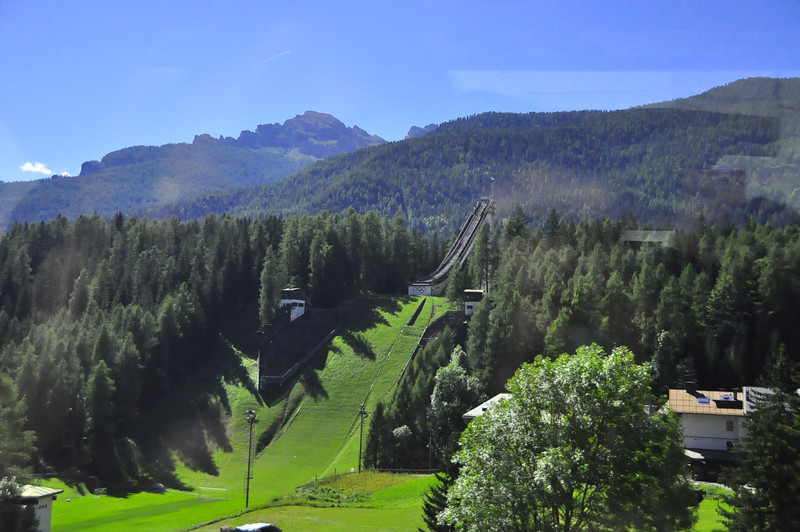 1956 Olympic ski jump in Cortina