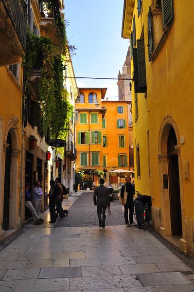Verona street scene