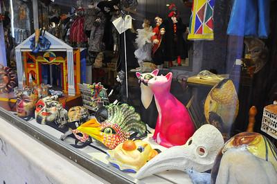 eclectic Venetian store