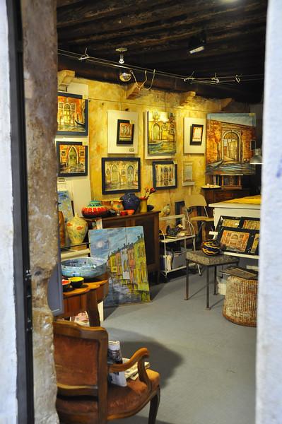 Venetian artist's studio