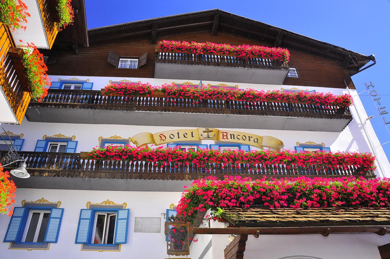 our hotel Ancora in Cortina