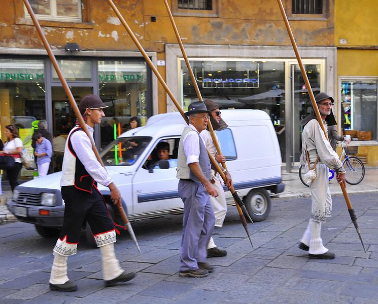 Swiss contingent for the Verona Tocati International Festival