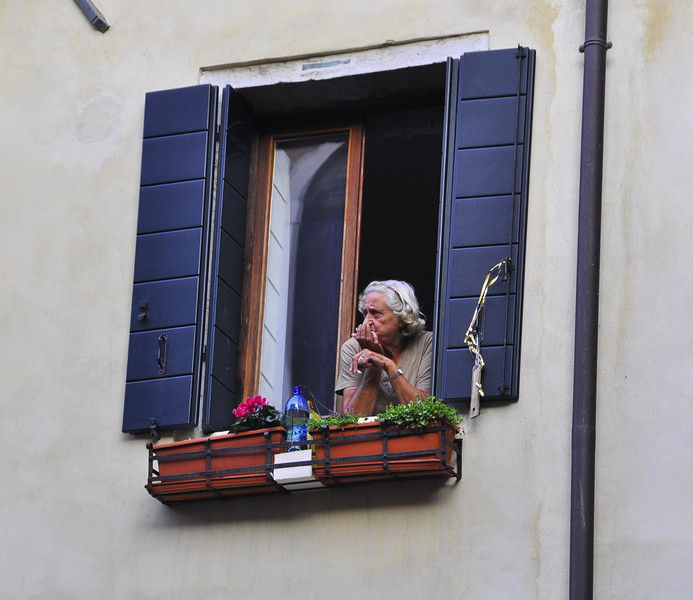 window to her Venetian world