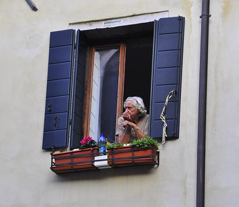 window to her Venetian world