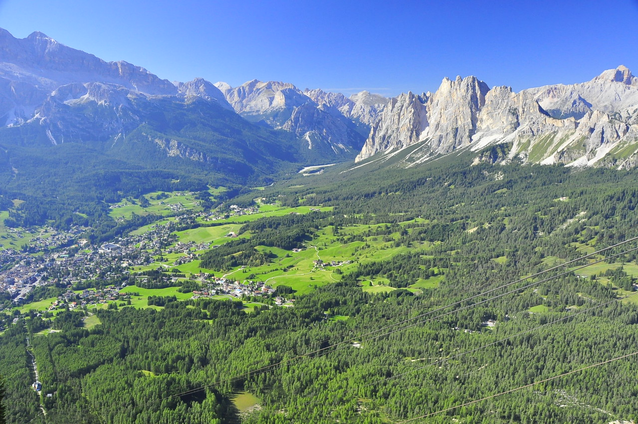 Cortina and the Ampezzan valley