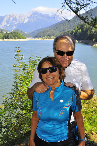 Bill and Maryellen at Lake Calalzo