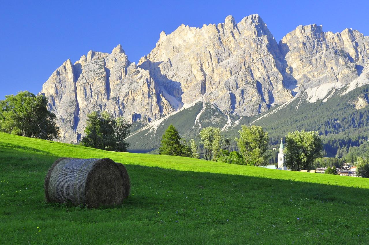 view on Cortina walk