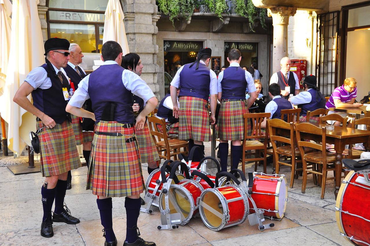 Scottish contingent