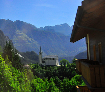 views before Cortina
