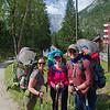 At the AV1 Trailhead at Lago di Braies