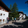 On our way to the Cortina station to catch the bus to Lago di Braies
