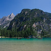 Afternoon boaters on Lago di Braies