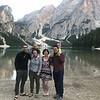 Evening group shot at Lago di Braies
