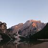 Dusk at Lago di Braies