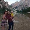 Family photo at Lago di Braies