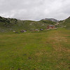 Rifugio Sennes  in the distance