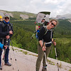Forest trail between Sennes and Fodara rifugios