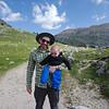 On the trail towards Capanna Alpina