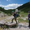 Easy walking  between Rifugio Lavarella and Capanna Alpina