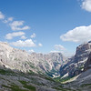View from the trail to Forcella Col dei Bos and Rifugio Dibona