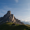 Late afternoon at Passo Giau